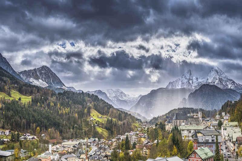 Beierse Alpen- Duitsland