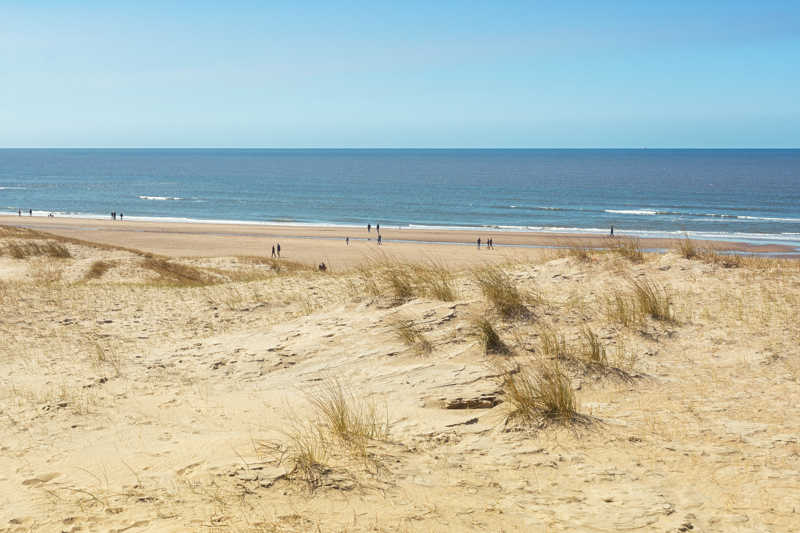 Bloemendaal strand