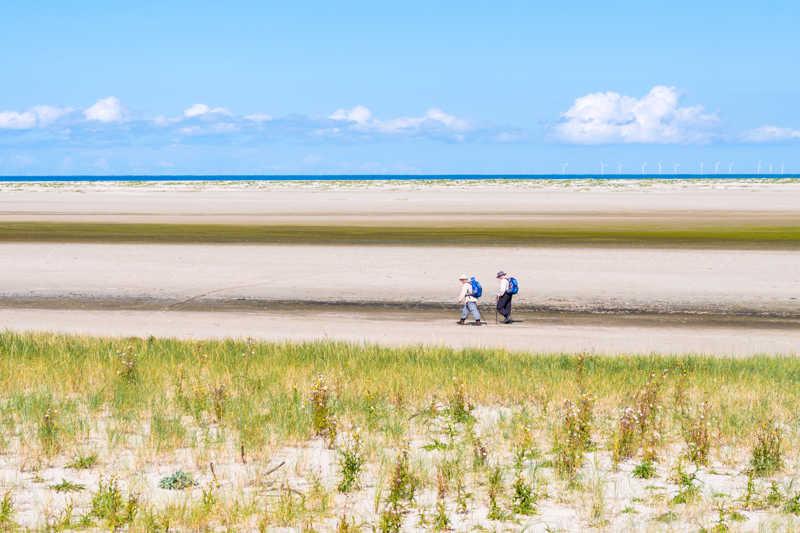 De Waddeneilanden schiermonnikoog strand