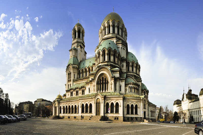 Kerk in Sofia Bulgarije
