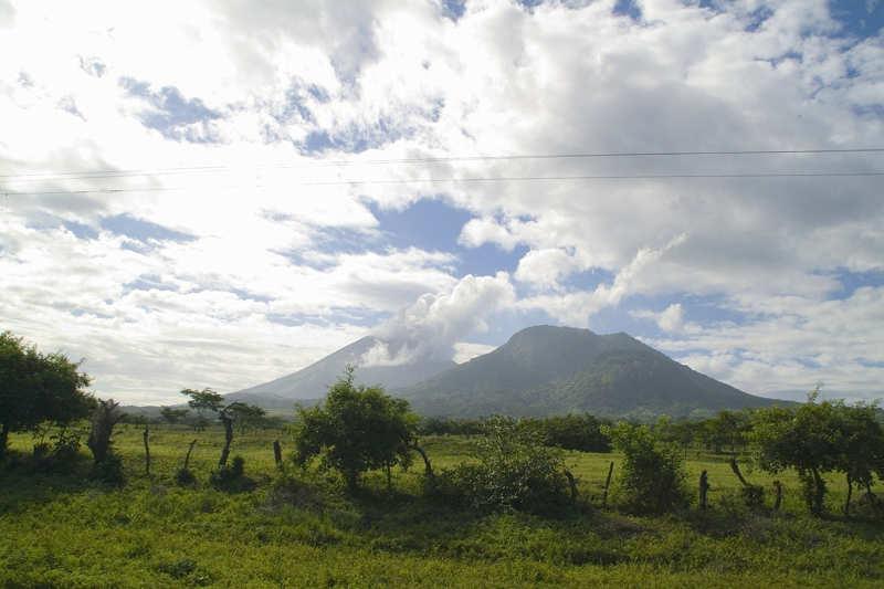 Nicaragua vulkaanlandschappen