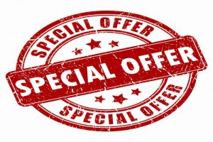 Special offer aanbieding kortingscode