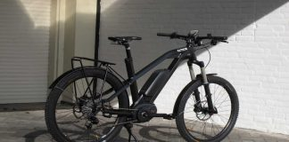 Sportieve elektrische fiets