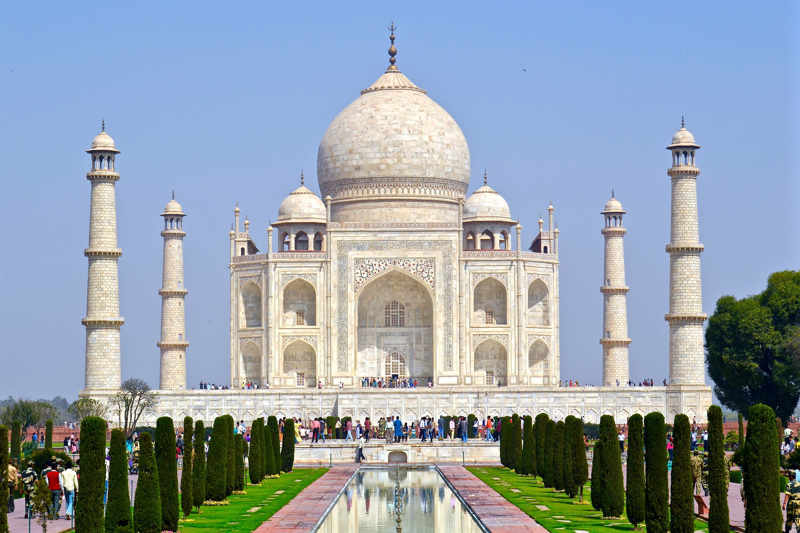 Taj Mahal in Noord-India