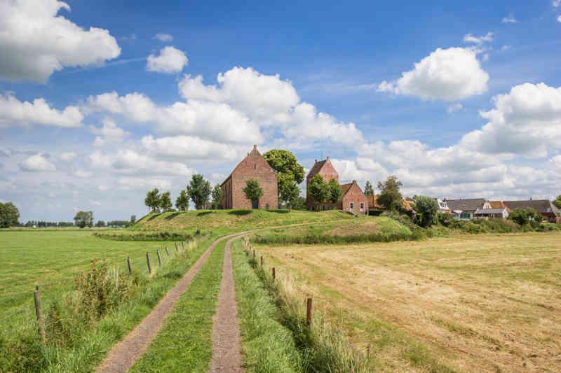 Groningen stadje Ezinge