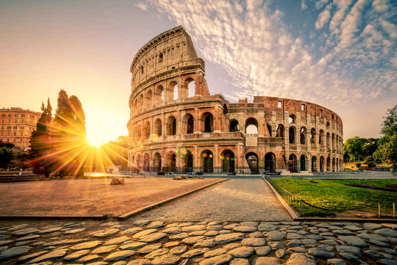 colosseum in italie
