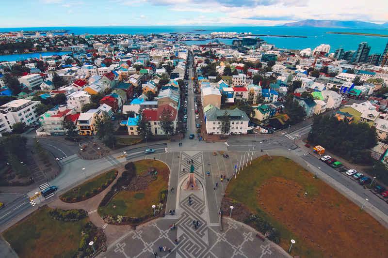 reykjavik-Ijsland