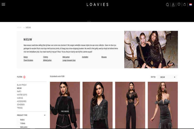 Loavies Webshop