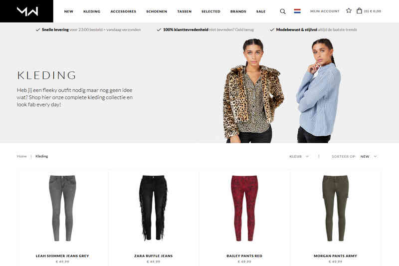 Most wanted webshop