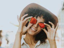 vrolijke gezonde vrouw