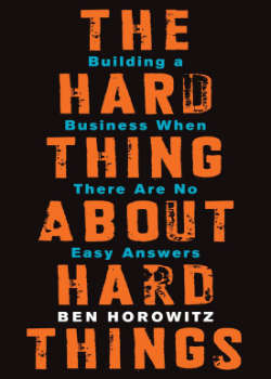 Boek Hard Thing About Hard Things