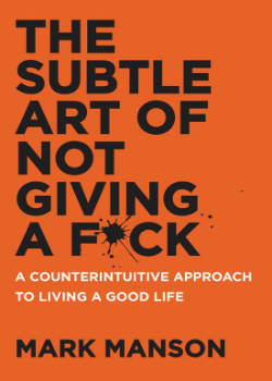Boek Mark Mansen - The Subtle Art of Not Giving a Fuck