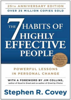 Persoonlijke ontwikkelings boek The 7 Habits of Highly Effective People