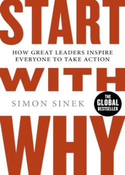Boek start with why simon sinek Persoonlijke ontwikkelings boek