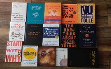 Boeken over persoonlijke ontwikkeling en Mindset
