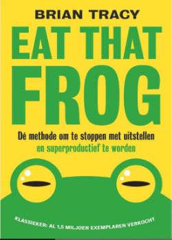 Persoonlijke ontwikkelings boek Eat That Frog boek