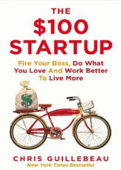 Boek the $100 startup by chris guillebeau