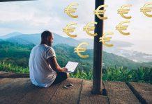 Man die online zijn geld verdiend en locatie onafhankelijk geld kan verdienen2